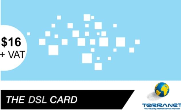 TERRA DSL$16 (4M/50GB)