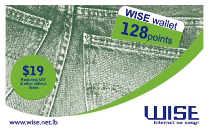 WISE wallet 128