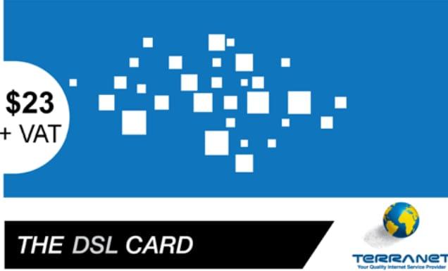 TERRA DSL$23 (4M/100GB) (OS/80GB)
